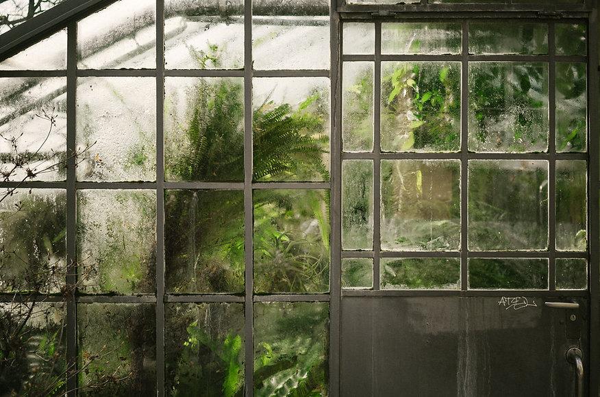 グラスの窓