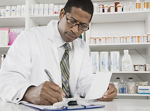 Filling Out Prescriptions