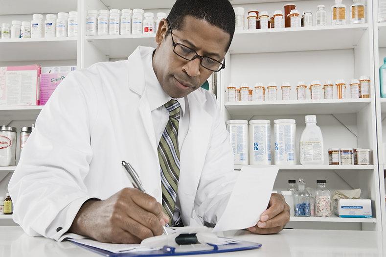 Filling Out Prescriptions