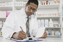 Preenchendo prescrições