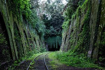 Verlassene Eisenbahn