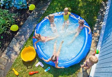 Backyard Kiddie Pool