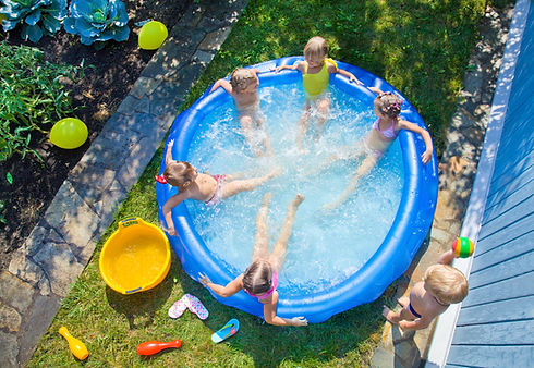 Backyard Kiddie Pool