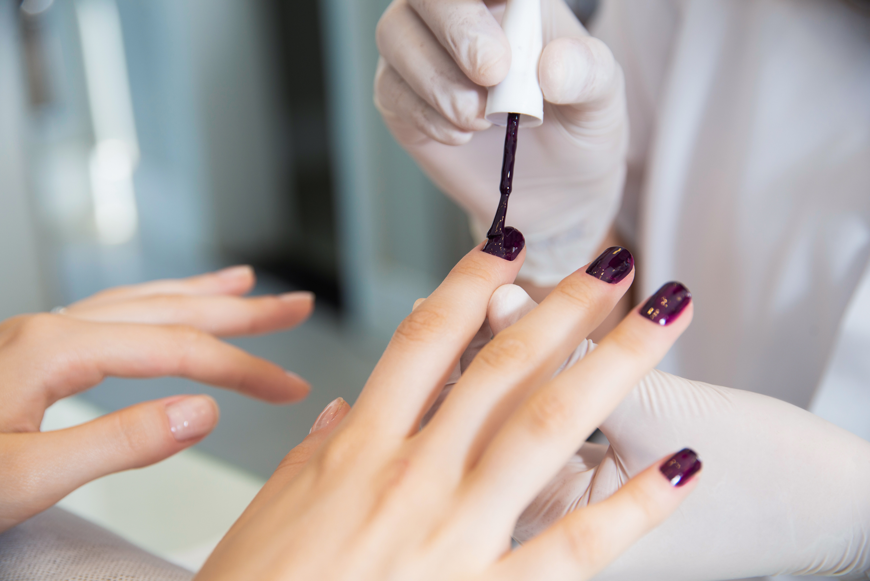 Manicure & pedicure & shellac