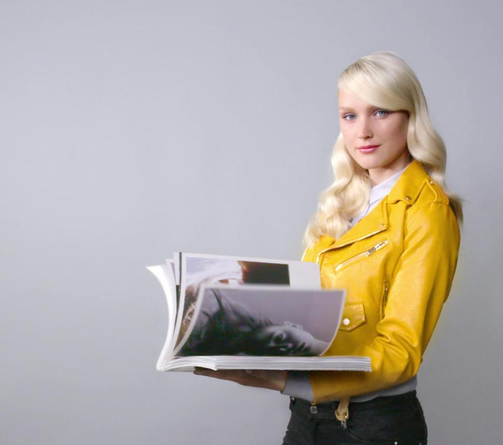 Cinemagraph magazine de mode