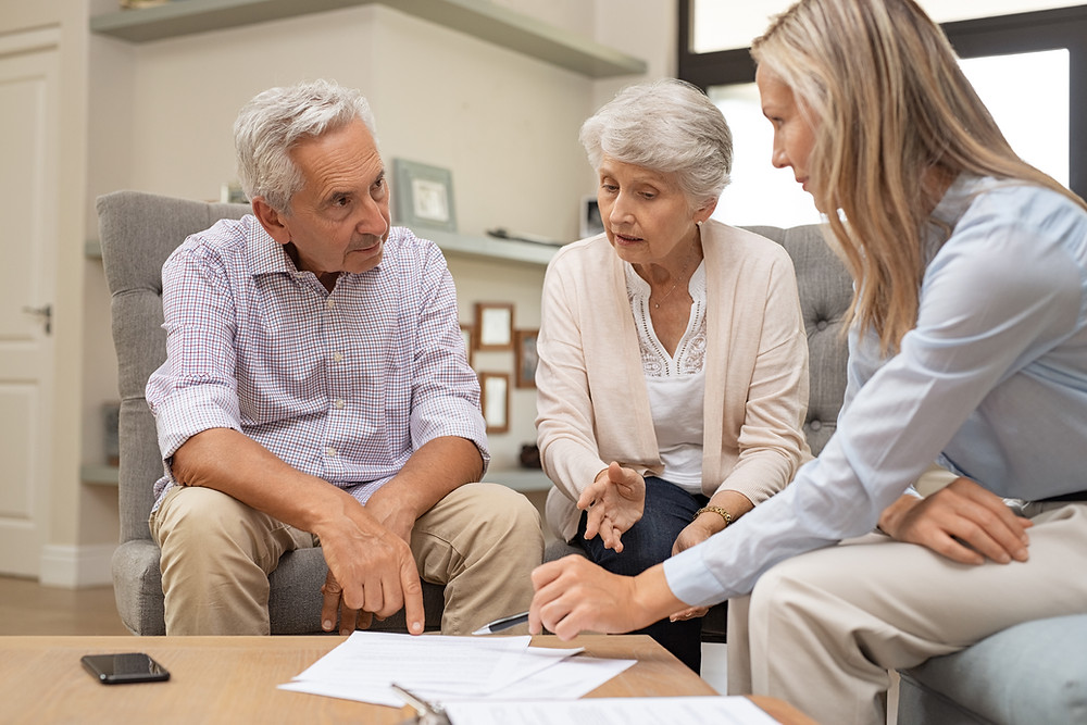 waiver services, elderly couple, home care
