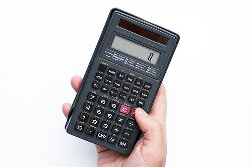 ADD ON:  Calculator (TX - TI-30XIIS)