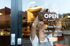 Abrir signo de tienda