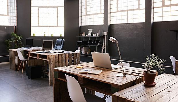 Spazio ufficio moderno