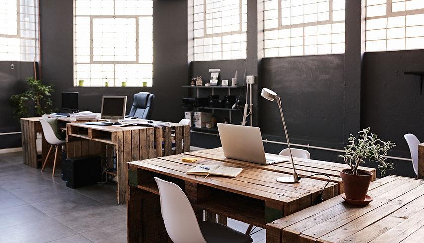 Espacio de oficina moderno