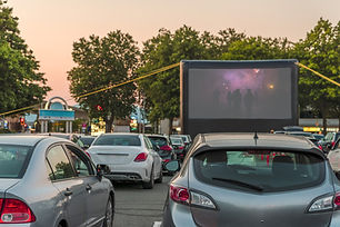 Drive-in Movie Theater in Round Rock Texas