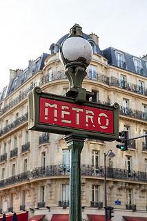 Arrêt de métro