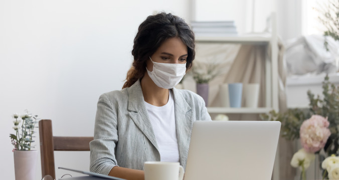 businesswoman-with-mask