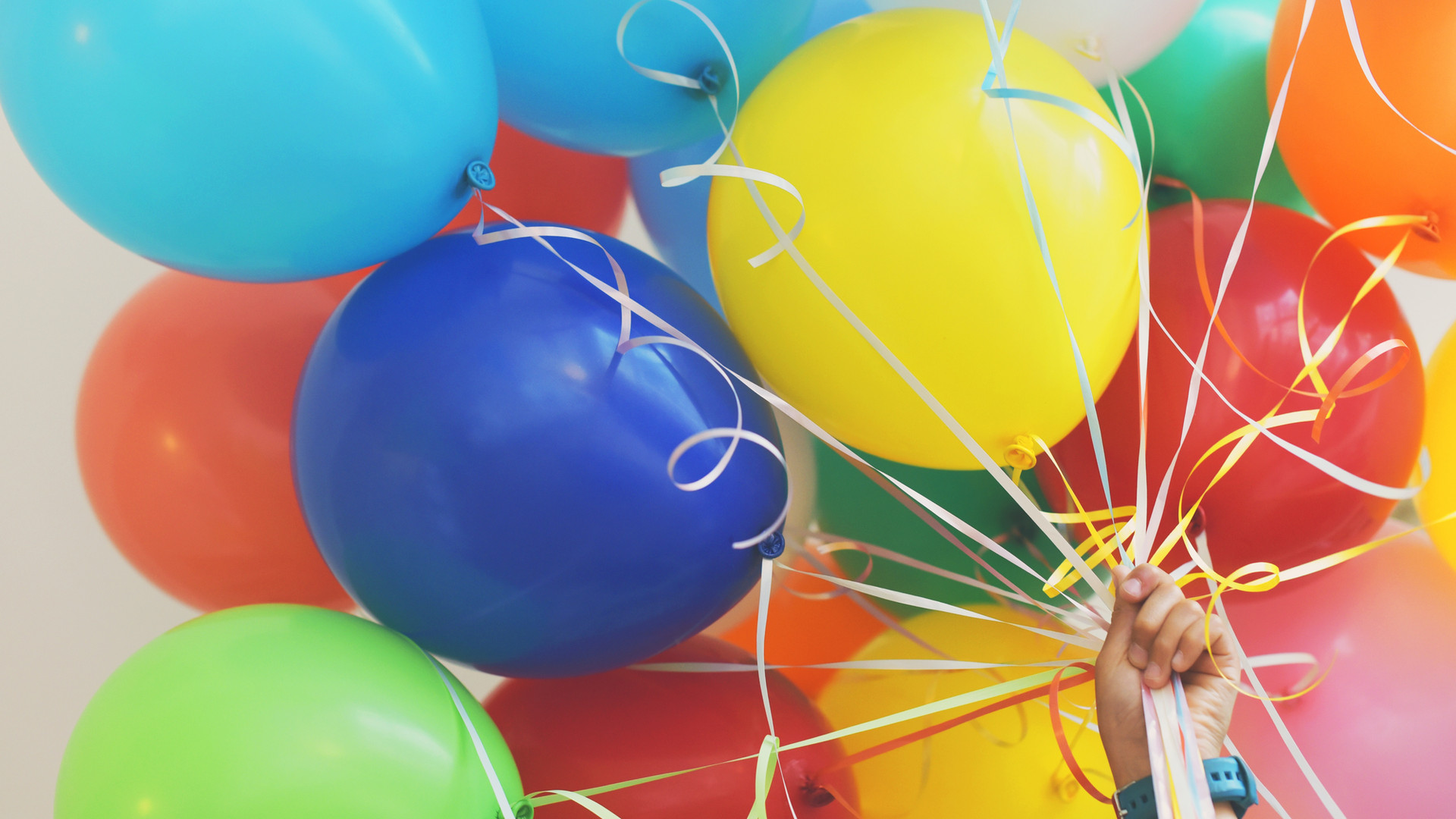 Bunte Luftballons