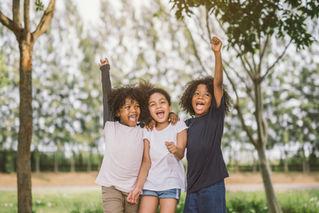 幸せな子供たち