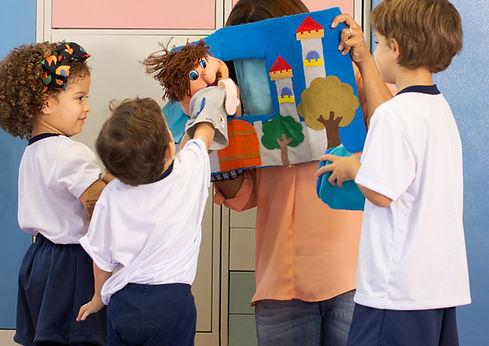 Espetáculo de marionetas