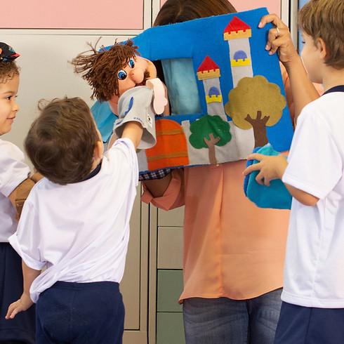 Kindertheater & spelletjes (kids 4-7 jaar)
