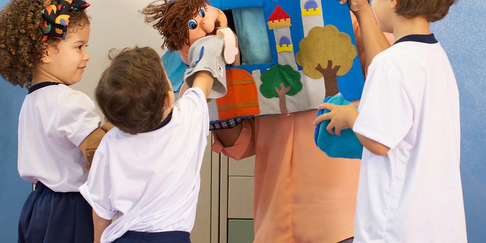 Atelier DEC : Mon 1er spectacle de marionnettes de Noël !