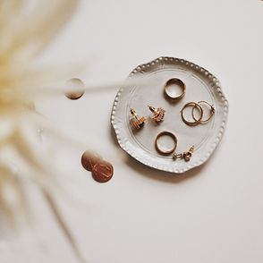 Assiette porte-bijoux