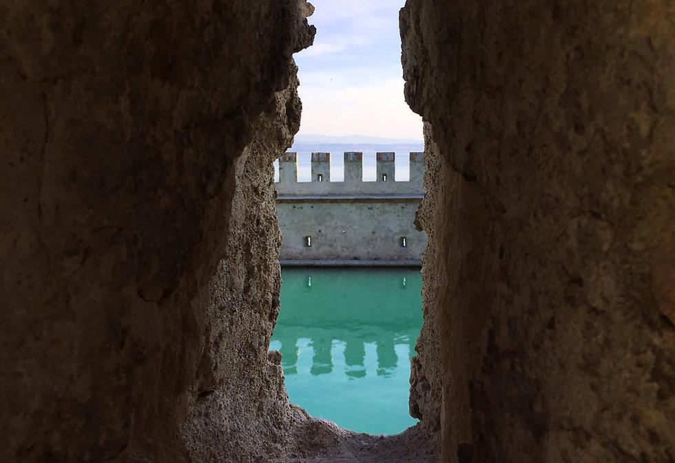 Castle Moat Wall