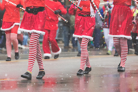 Christmas Parade Dancers