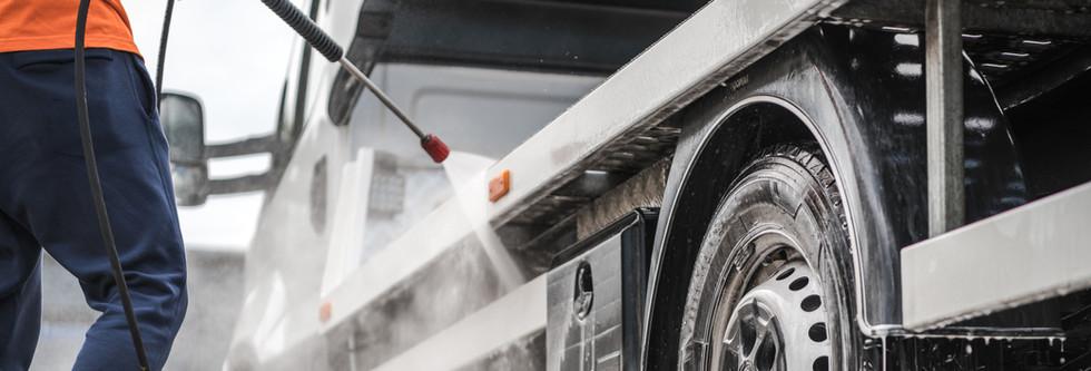 Luft- og hydraulikkdrevne høytrykksvaskere
