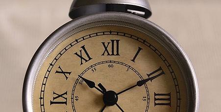 Viejo reloj despertador