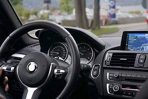 Sistema de som de carro