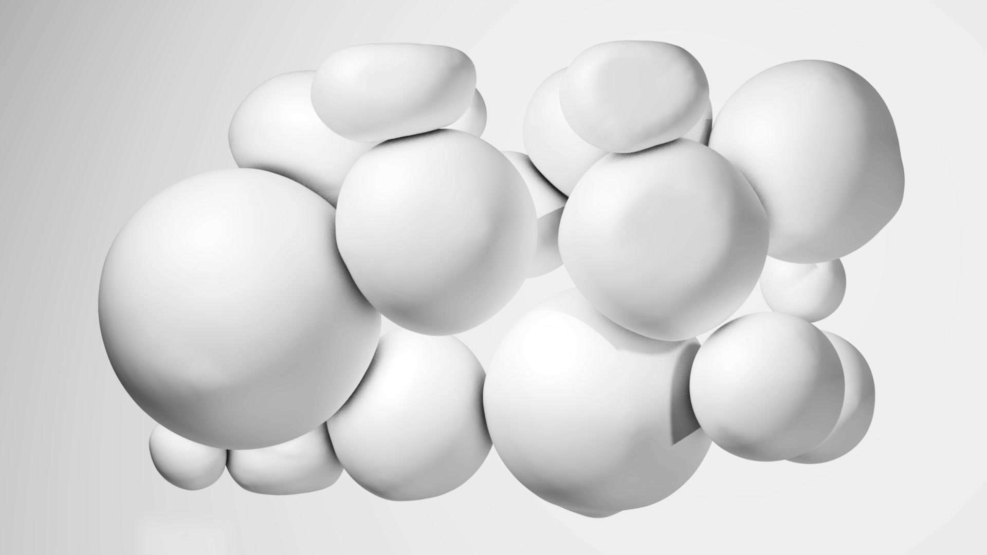 Weiße Blasen