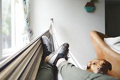 Entspannen auf einer Hängematte