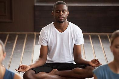 méditation et matcha