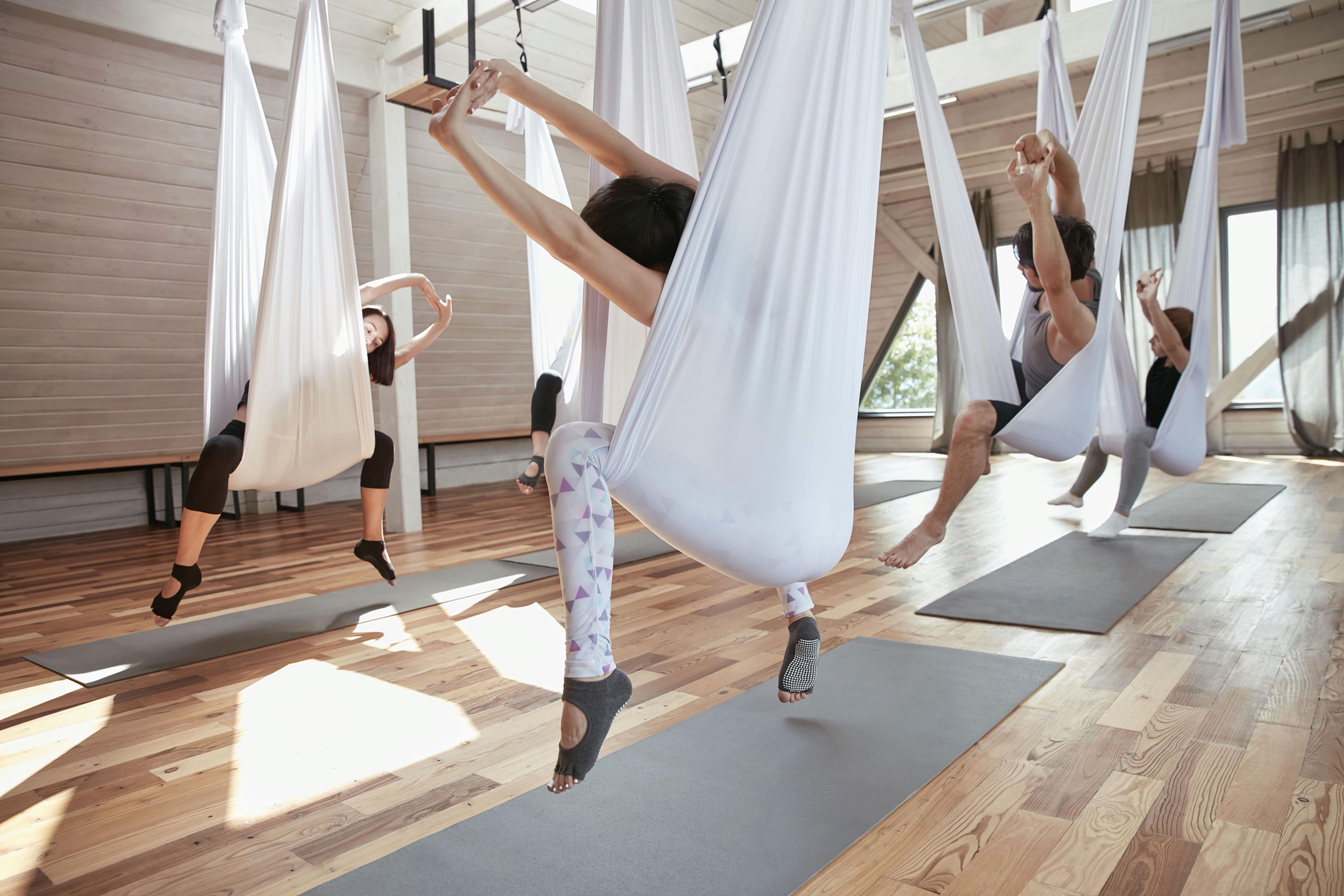 Mi. 18:30 - Flying Yoga Level I