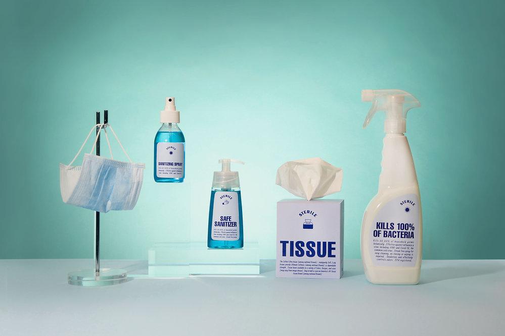 Productos desinfectantes
