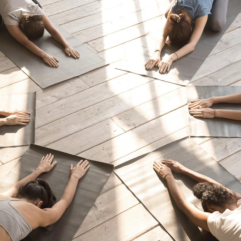 October 21st Full Moon Yoga & Meditation