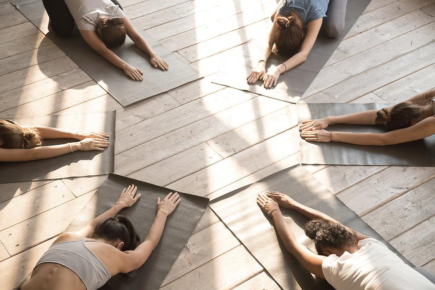 Yoga Child's Pose