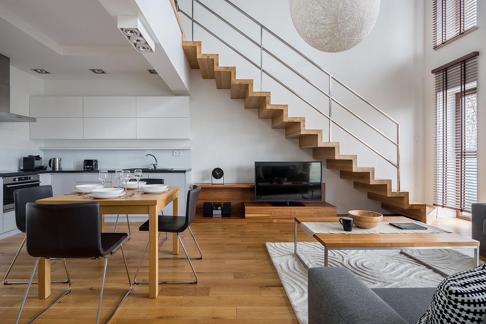 Ferienwohnung einrichten - Modernes Design