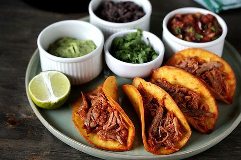 Fleisch Tacos