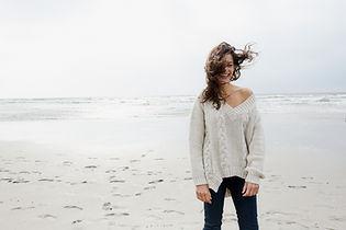 Kalter Tag am Strand