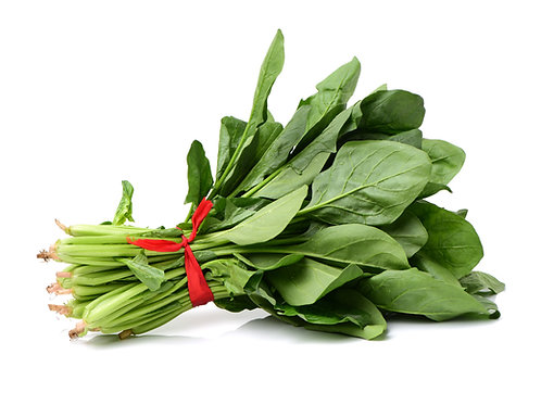 Spinach by the pound