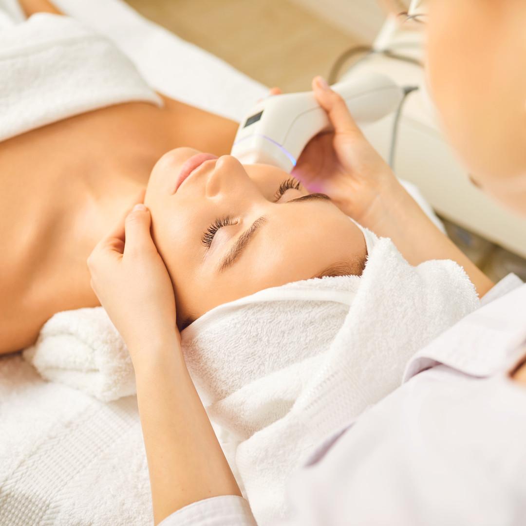 HIFU Ultraschall Behandlung