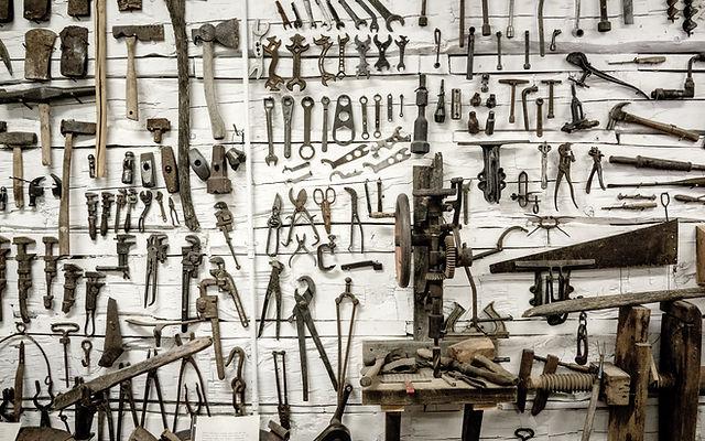 Werkzeugschuppen