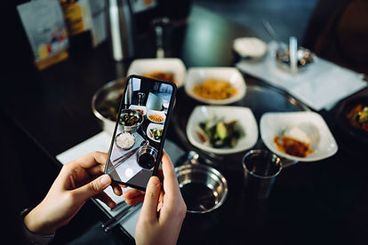 Taking Food Photo with Smartphone