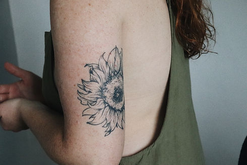 Sonnenblumen Tattoo