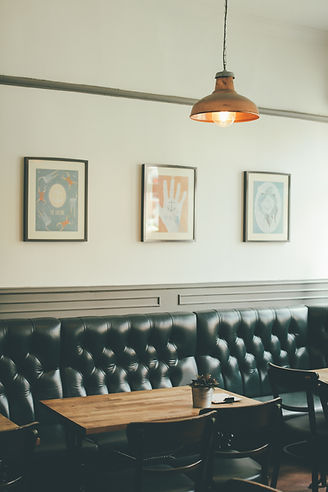 Restaurant Leather Seats