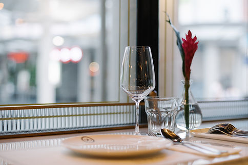 Table Setting by Window
