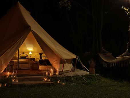 Why is Glamping The New Romantic Weekend Away?
