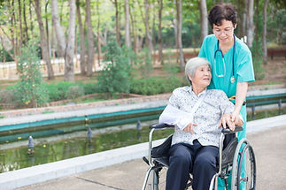 Healthcare Worker with Patient