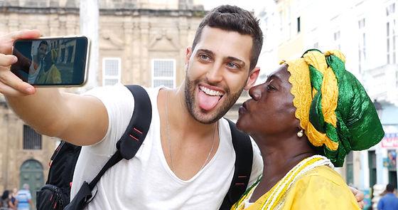 Viajando na Bahia