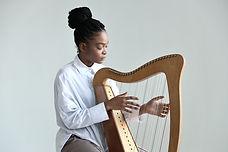 Playing Harp