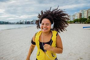 Jogging avec musique